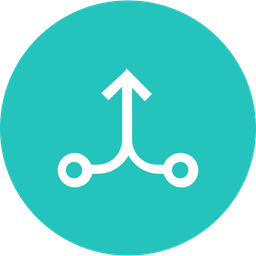 Arrow, Arrows, Connection, Mergr, Joint, Up Icon png