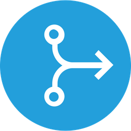 Arrow, Arrows, Connector, Merge, Joint, Straight, Right Icon png