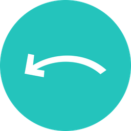 Arrow, Arrows, Curve, Left, Way, Sign Icon png