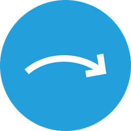 Arrow, Arrows, Curve, Right, Down, Turn, Way Icon png