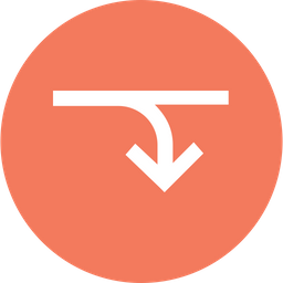 Arrow, Arrows, Down, Right, Merge, Connection Icon png
