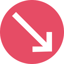 Arrow, Arrows, Down, Sign, Cross Icon