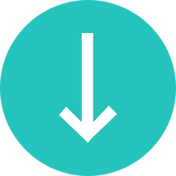 Arrow, Arrows, Down, Sign, Traffic, Way Icon png