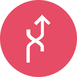 Arrow, Arrows, Merge, Joint, Curve, Up Icon