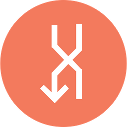 Arrow, Arrows, Overlap, Down, Uturn, Turn Icon png