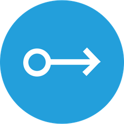 Arrow, Arrows, Right, Circle, Way Icon png