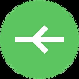 Arrow, Arrows, Right, Halfway, Way, Traffic, Sign Icon png
