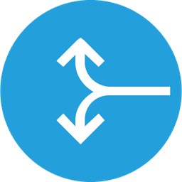 Arrow, Arrows, Up, Down, Lefg, Sign, Merge Icon