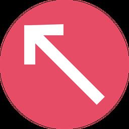 Arrow, Arrows, Up, Left, Traffic, Way Icon