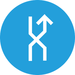Arrow, Arrows, Up, Traffic, Shuffle, Mix, Right Icon png