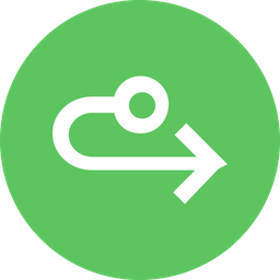 Arrow, Arrows, Way, Turn, Right, Straight Icon png