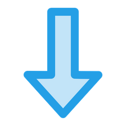 Arrow, Direction, Down, Way, Download Icon