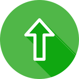 Arrow, Direction, Up, Way, Upload Icon