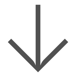 Arrow, Down, Turn, Linesvg Icon