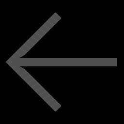 Arrow, Left, Turn, Line, Direction Icon