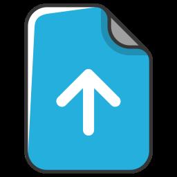 Arrow, Upload, Up, Document, File Icon