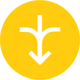 Arrows, Connect, Joint, Connection, Join, Down, Turn Icon png