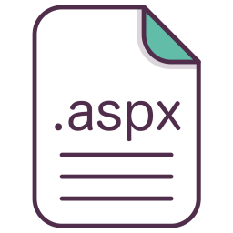 Aspx, File, Document, Extension, Filetype Icon