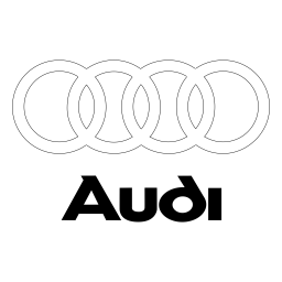 audi logo icon of flat style available in svg png eps