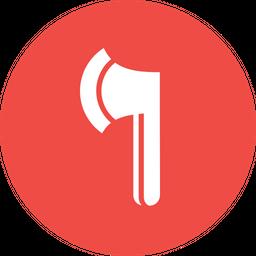 Axe Glyph Icon
