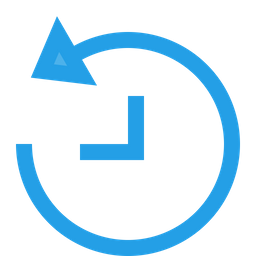 Backup, Recovery, Recover, Time, Interface, UI Icon