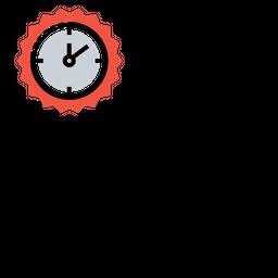 Badge, Time, Leaderboard, Award, Medal, Prize, Reward Icon