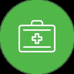 Bag, Breifcase, Medical, Medicine, Care, Firstaid, Kit Icon