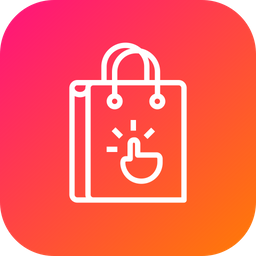 Bag, Cart, Shop, Shopping, Hand, Online, Gesture, Click, Ecommerce Icon png