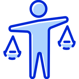Balance Colored Outline Icon