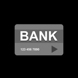 Bank, Credit, Debit, Card, Transaction Icon