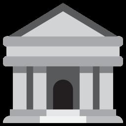 Bank Emoji Icon