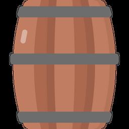 Barrel Flat Icon