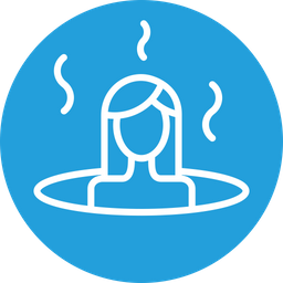 Bath, Sauna, Spa, Treatment, Steambath, Hot, Wellness Icon png