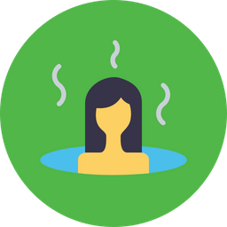 Bath, Sauna, Spa, Treatment, Steambath, Hot, Wellness Icon png
