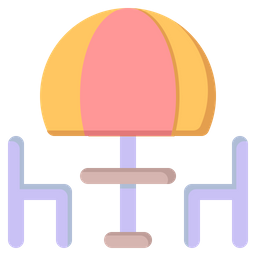 Beach Restaurant Icon