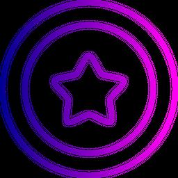 Bedge, Medal, Star, Award, Label, Achievement Icon