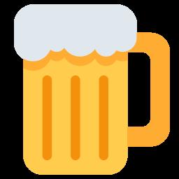 Beer, Mug, Glass, Drink, Cocktail, Emoj, Symbol, Babr Emoji Icon