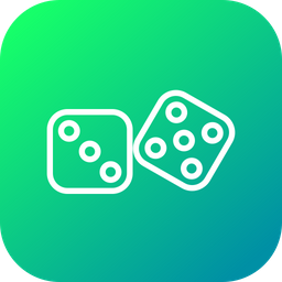 Bet, Dice, Casino, Dices, Game, Gamble, Gambling Icon
