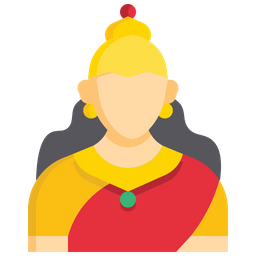 Bharat Mata Icon Of Flat Style Available In Svg Png Eps Ai Icon Fonts