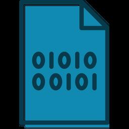 Binary Coding File Icon