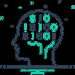 Binary Mind Icon