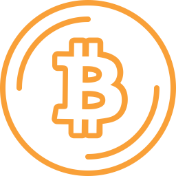 Bitcoin Icon Of Line Style Available In Svg Png Eps Ai Icon Fonts