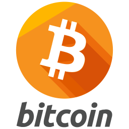 Bitcoin Flat  Logo Icon