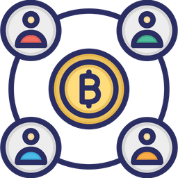 Bitcoin Double Spending Icon