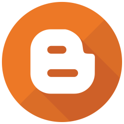 Blogger Flat  Logo Icon