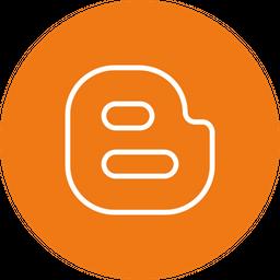 Blogger Logo Icon