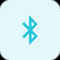 Bluetooth B Logo Icon