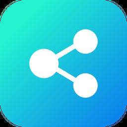 Bluetooth, Share, File, Image, Transfer Icon