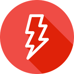 Bolt, Thunder, Electricity, Energy, Charge Icon
