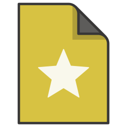 Bookmark, Award, File, Rating, Document Icon